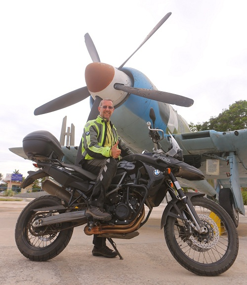 CU SX2A5378 Me at the Bay of Pigs, Cuba 500; copyright Christopher P Baker