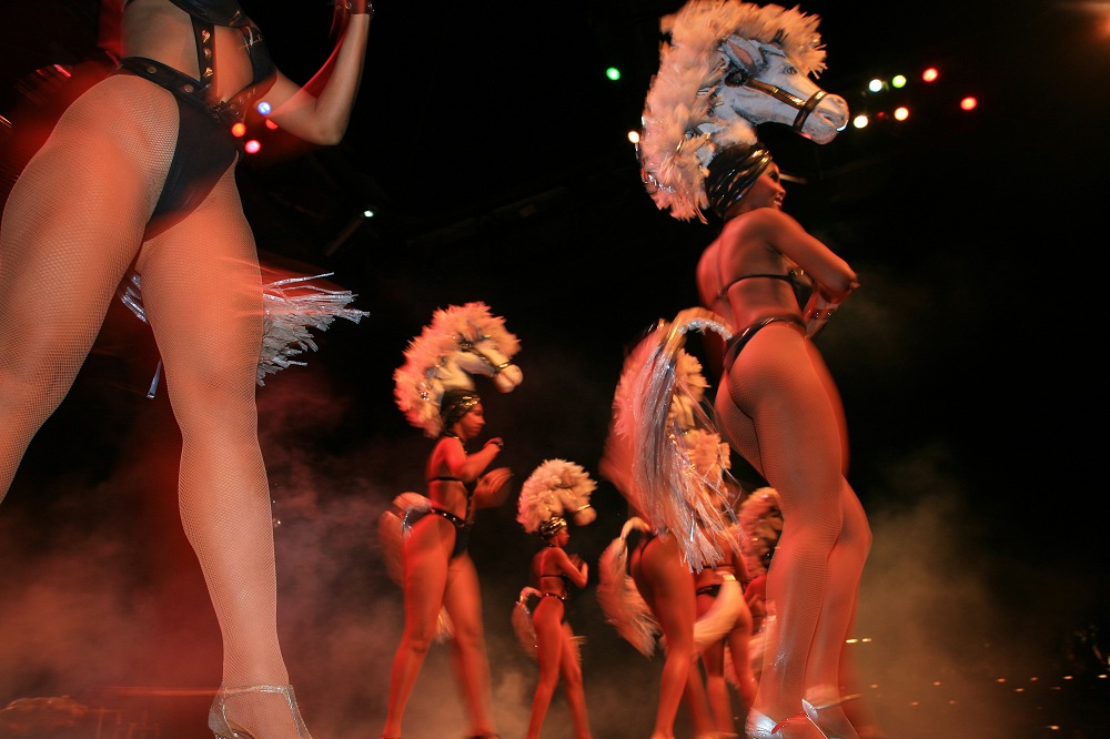 IMG_0167 Tropican showgirls, Santiago de Cuba; copyright Christopher P Baker