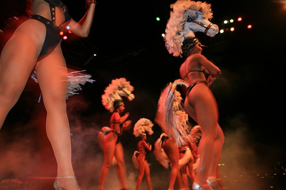 IMG_0167 Tropican showgirls, Santiago de Cuba; copyright Christopher P Baker