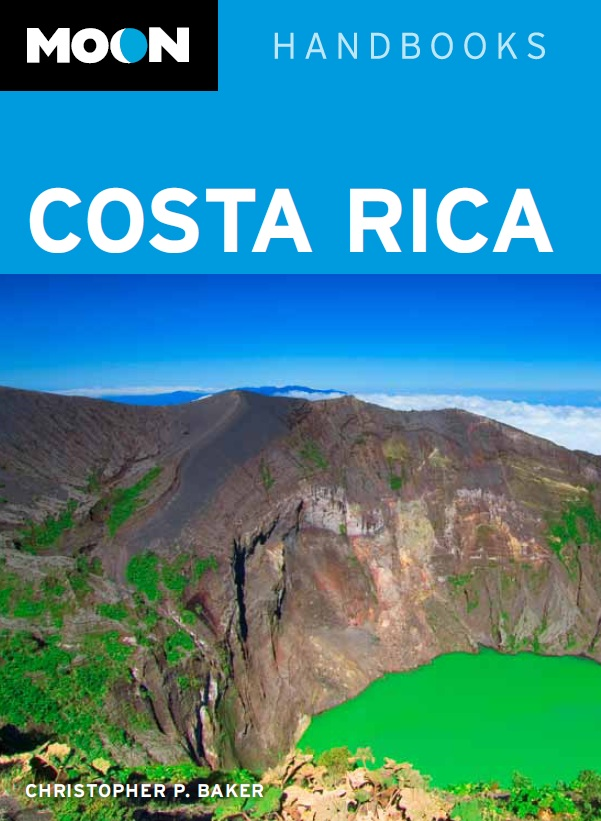 Moon Cost Rica guidebook 9th edition