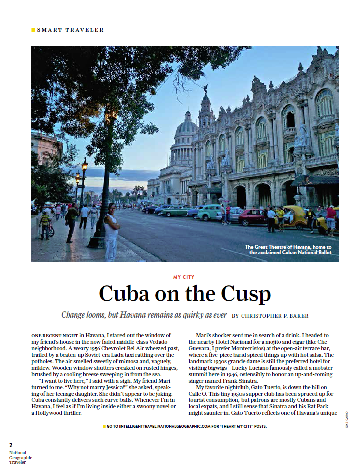 NGT May 2015 Cuba on the Cusp