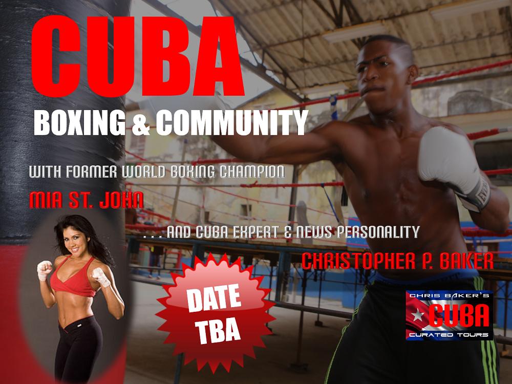 Boxing Cuba with Mia St John
