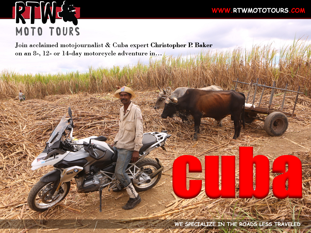 RTW Motorcycle Tour Cuba 1000px