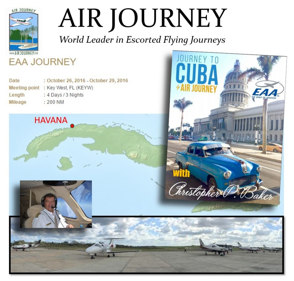 Air Journey escorted private pilots tour Cuba Christopher Baker