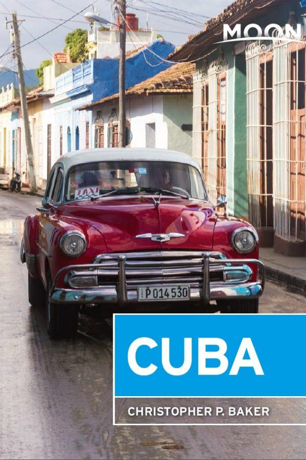Moon Cuba guidebook Cover