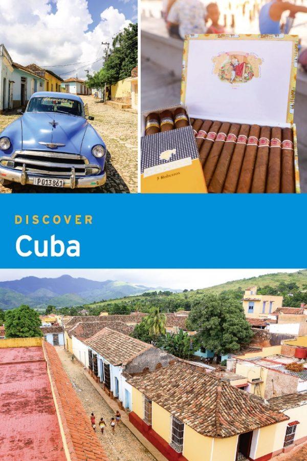 Moon Cuba guidebook discover cover 1