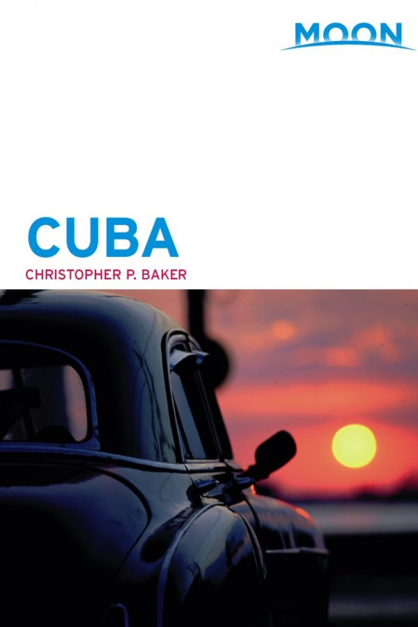 Moon Cuba guidebook inside cover
